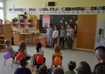 Sprejem v šolsko skupnost/Az elsősök beavatása az iskolai közösségbe (2018/2019)