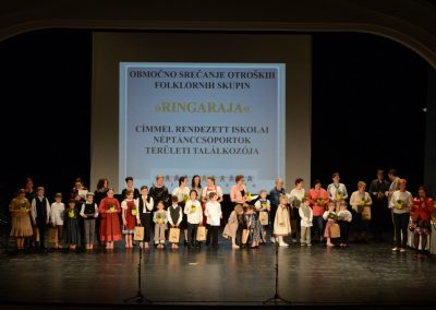 Območno srečanje otroških folklornih skupin »RINGARAJA« (2018/2019)